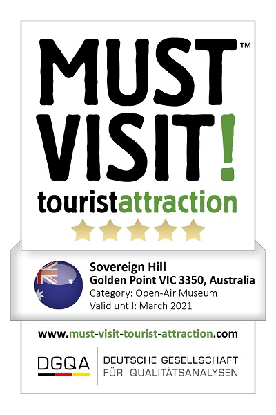MUST VISIT! tourist attraction (dgqa) Sovereign Hill