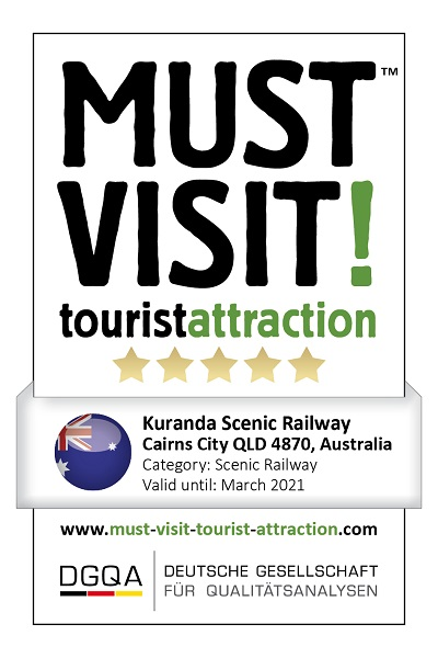 MUST VISIT! tourist attraction (dgqa) kuranda scenic railway