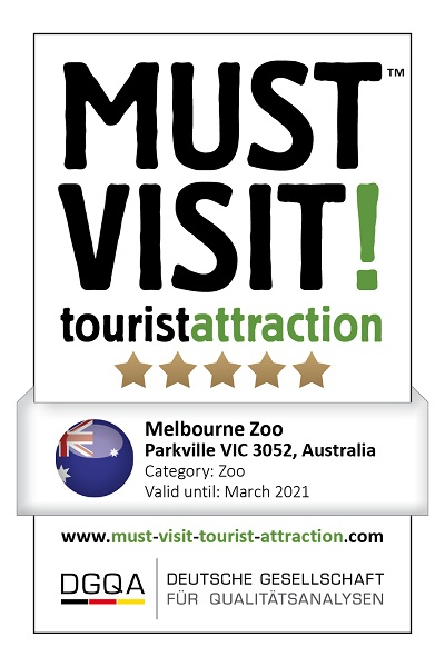 MUST VISIT! tourist attraction (dgqa) melbourne zoo
