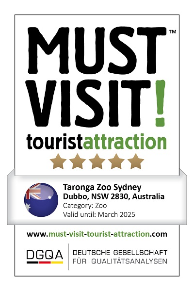 MUST VISIT! tourist attraction (dgqa) taronga zoo sydney