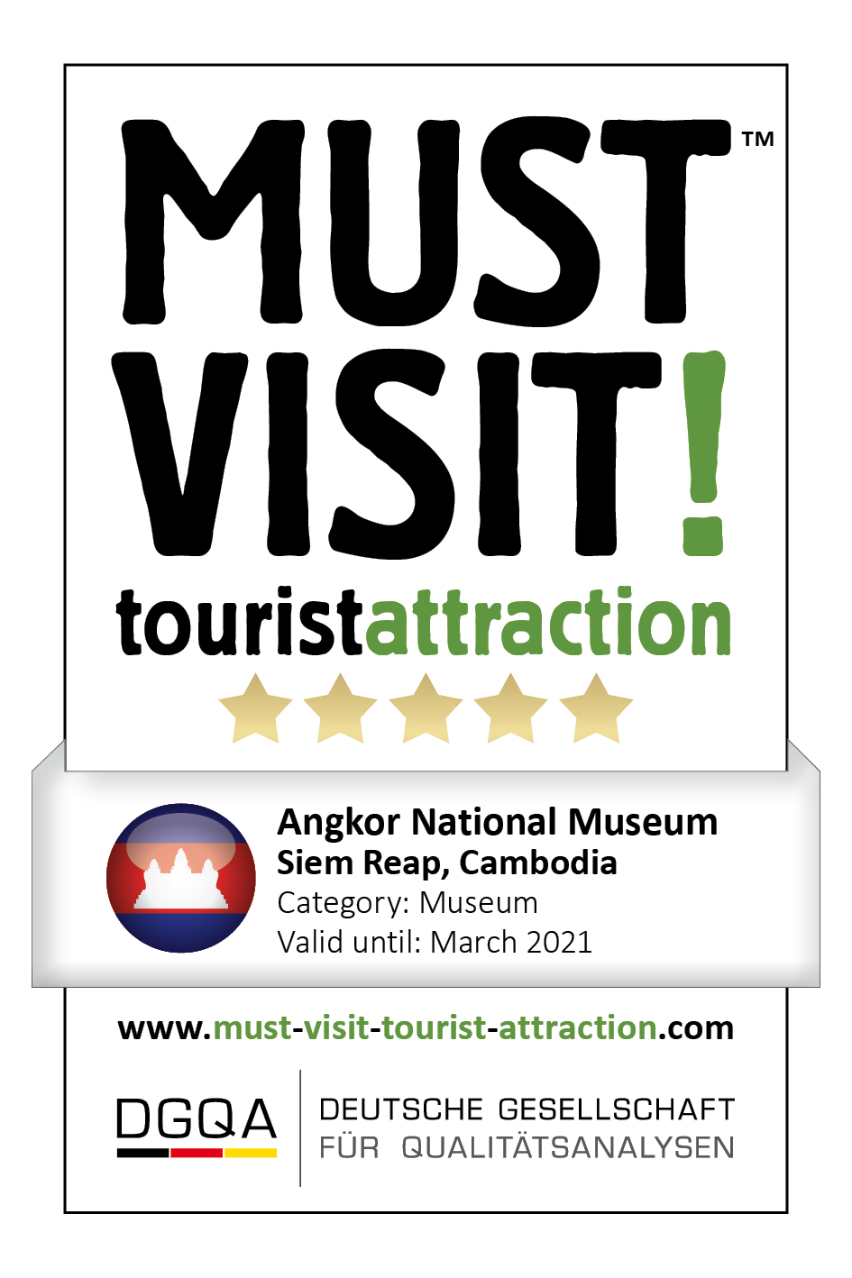 MUST VISIT! tourist attraction (dgqa) angkor national museum