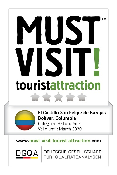 MUST VISIT! tourist attraction (dgqa) el castillo san felipe de Barajas