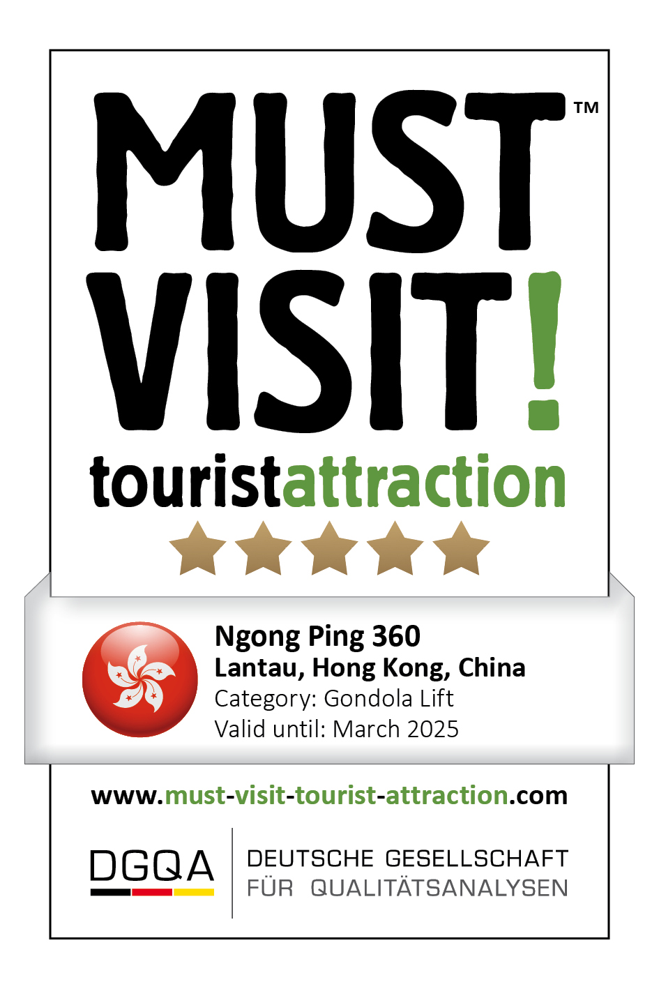 MUST VISIT! tourist attraction (dgqa) ngong ping 360