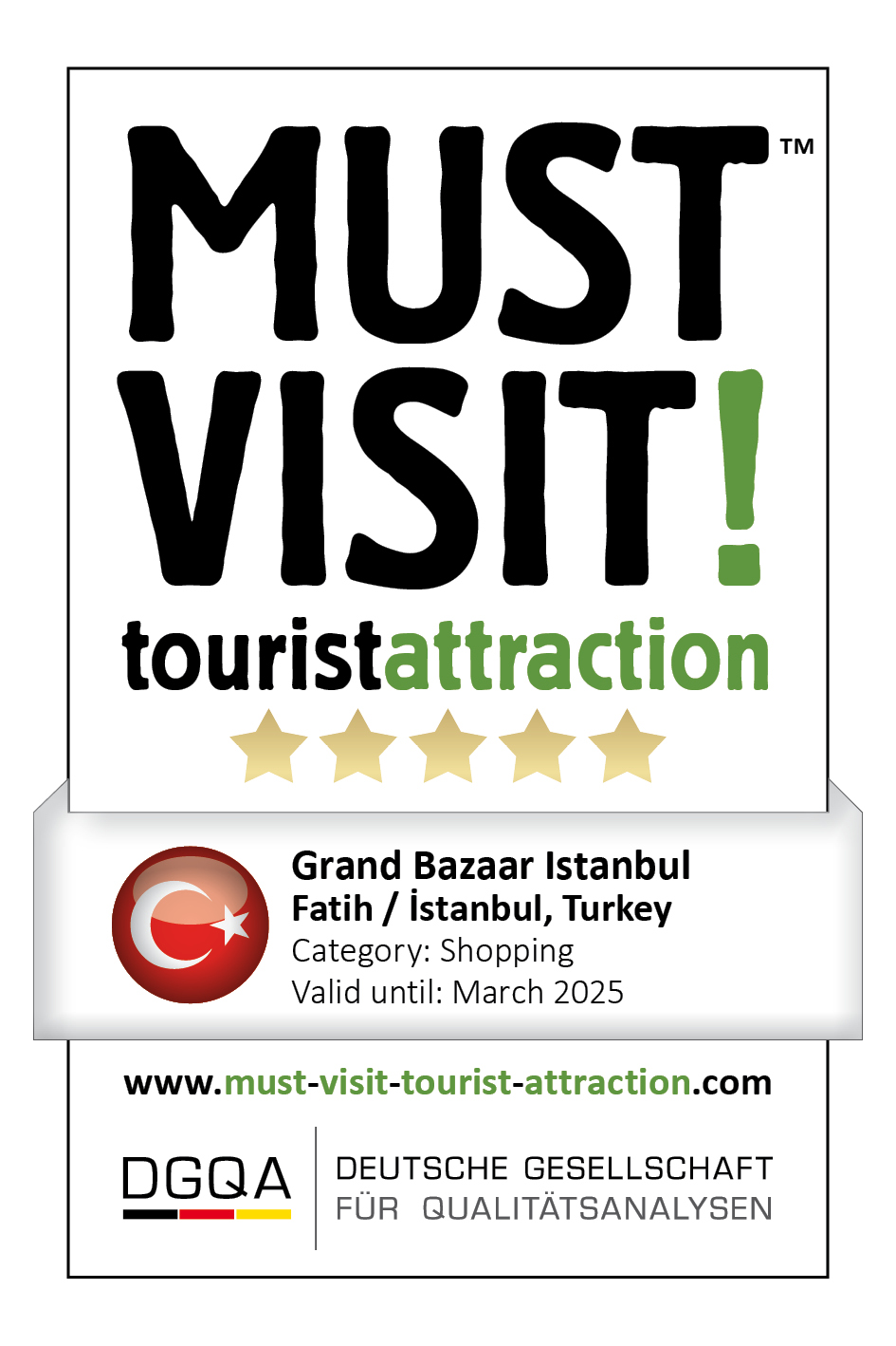 MUST VISIT! tourist attraction (dgqa) grand bazaar istanbul