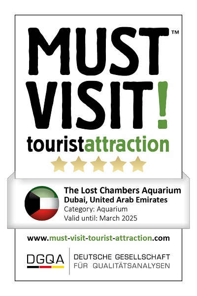 MUST VISIT! tourist attraction (dgqa) the lost chambers aquarium