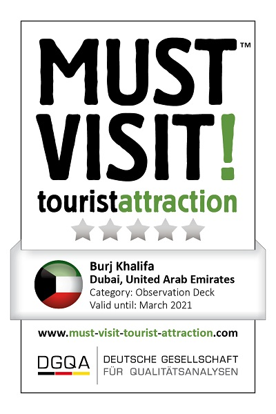 MUST VISIT! tourist attraction (dgqa) burj khalifa