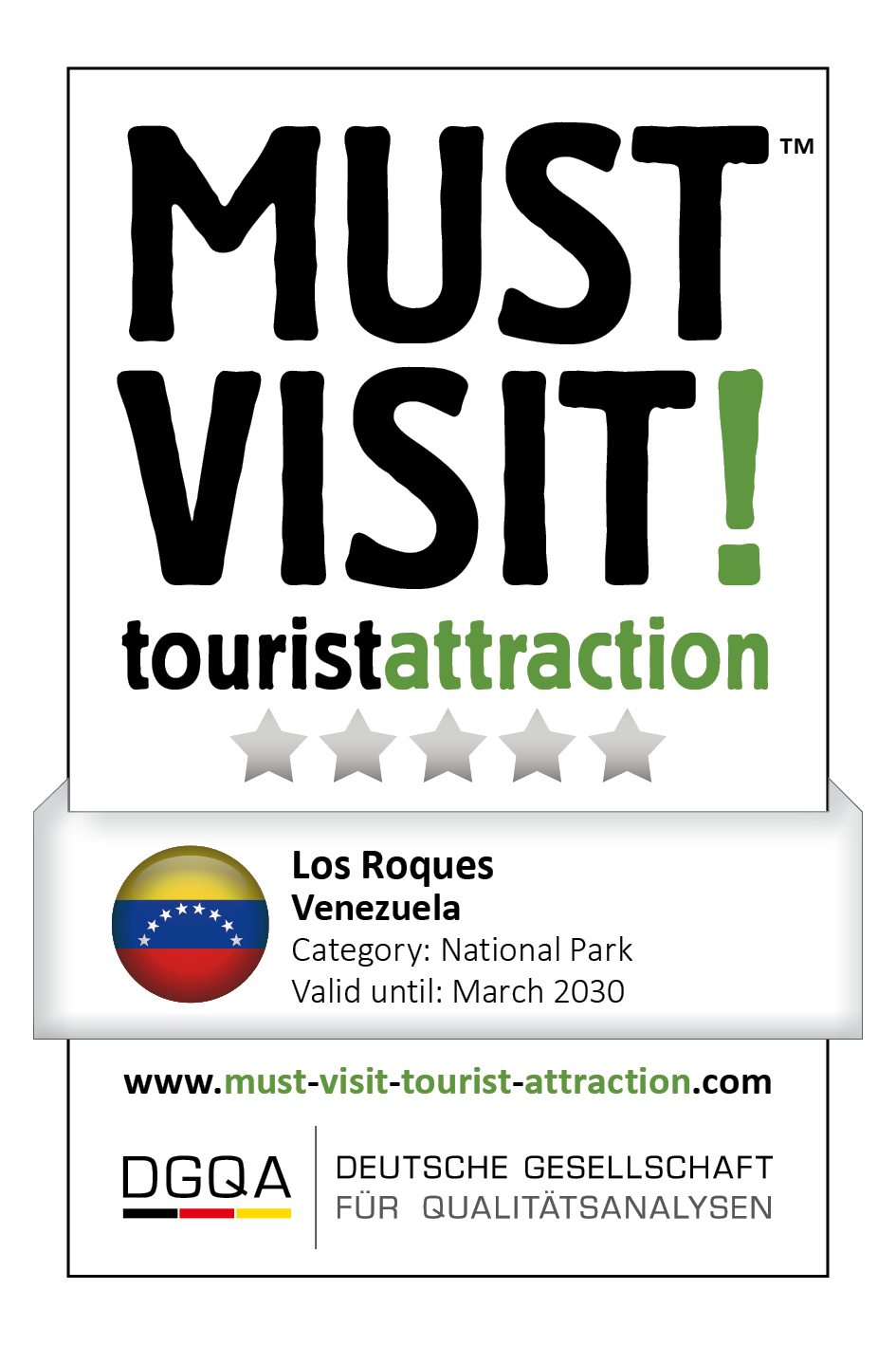 MUST VISIT! tourist attraction (dgqa) los roques